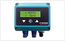 DE44 LCD - 2 channel differential pressure switch / transmitter