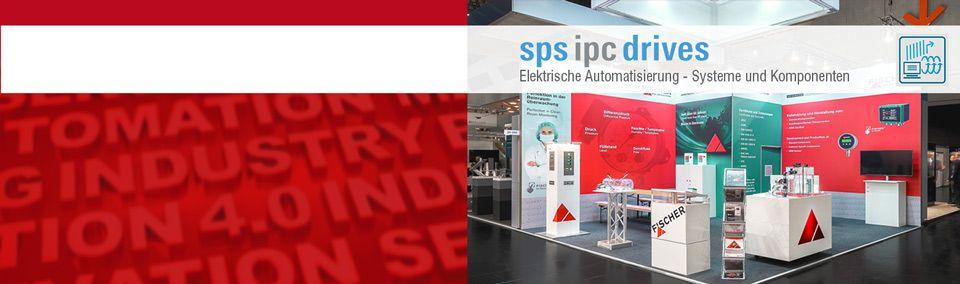 FISCHER Slide zur Messeeinladung SPS IPS Drives 2018